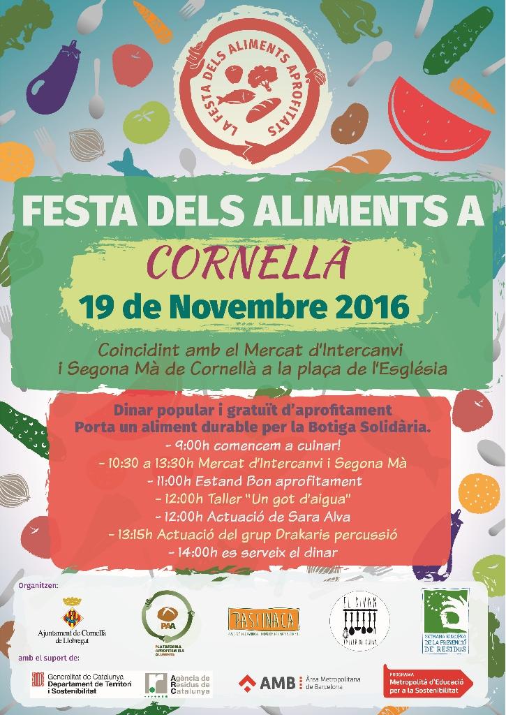 La Fiesta de los Alimentos Aprovechados de Cornellá