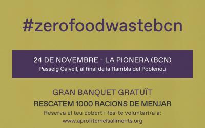 Ven a la Jornada #ZeroFoodWasteBcn