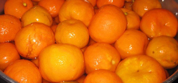 Taronjada d'aprofitament a Terrassa