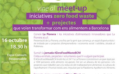 Meet up de iniciativas Zero Food Waste