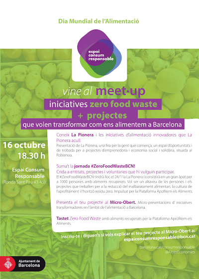 Meet up de iniciativas Zero Food Waste