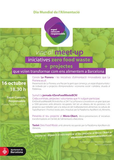 Meet up d'iniciatives Zero Food Waste