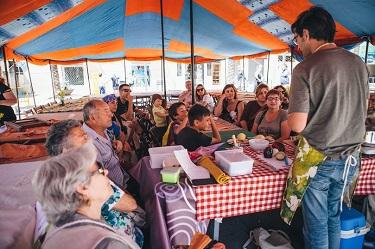 Comida de aprovechamineto y taller en Vilanova i la Geltrú