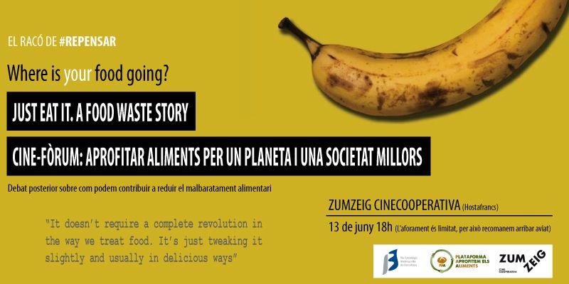 Cine-fòrum sobre malbaratament alimentari